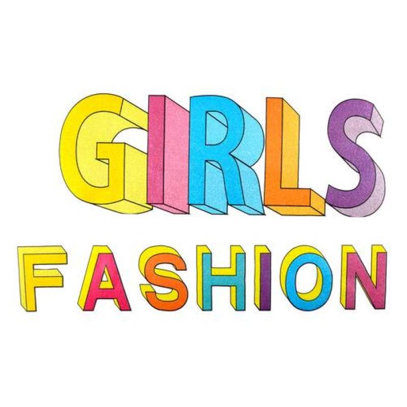 Термотрансфер GIRLS FASHION  14х23см