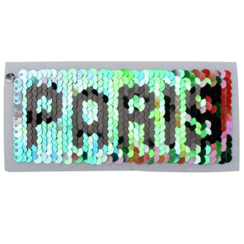 Нашивка PARIS 5,5*11см, цв: мультиколор