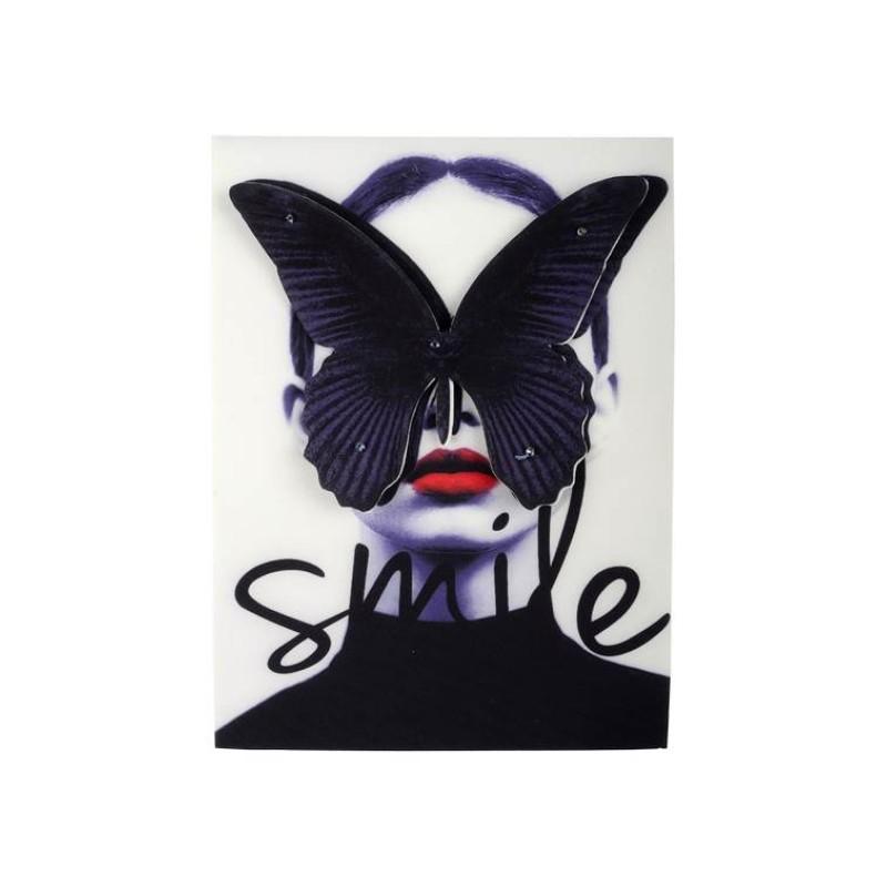 Нашивка 3D SMILE