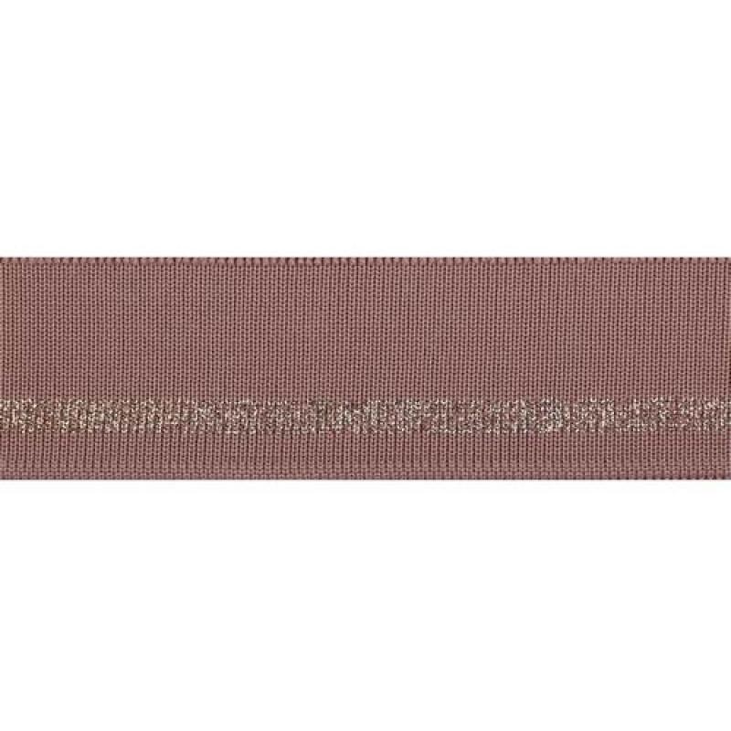 Подвяз полиэстер с люрекс 4*100см, цв: пудровый