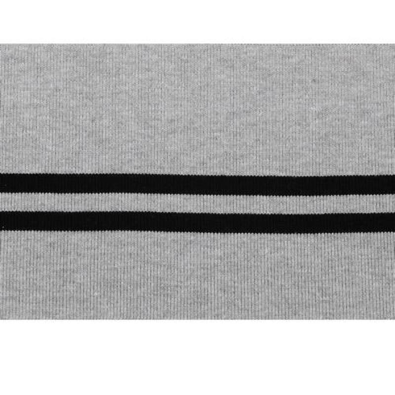 Подвяз из акрила, переплетение 1*1, двухцветный