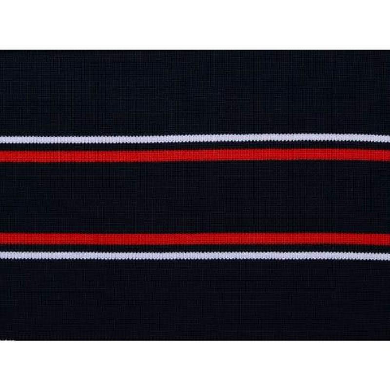 Подвяз полиэстер 1*1, 12*100см, цв: темно-синий