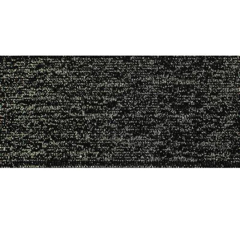 Подвяз акрил с люрексом 1*1, 6*100см, цв: черный