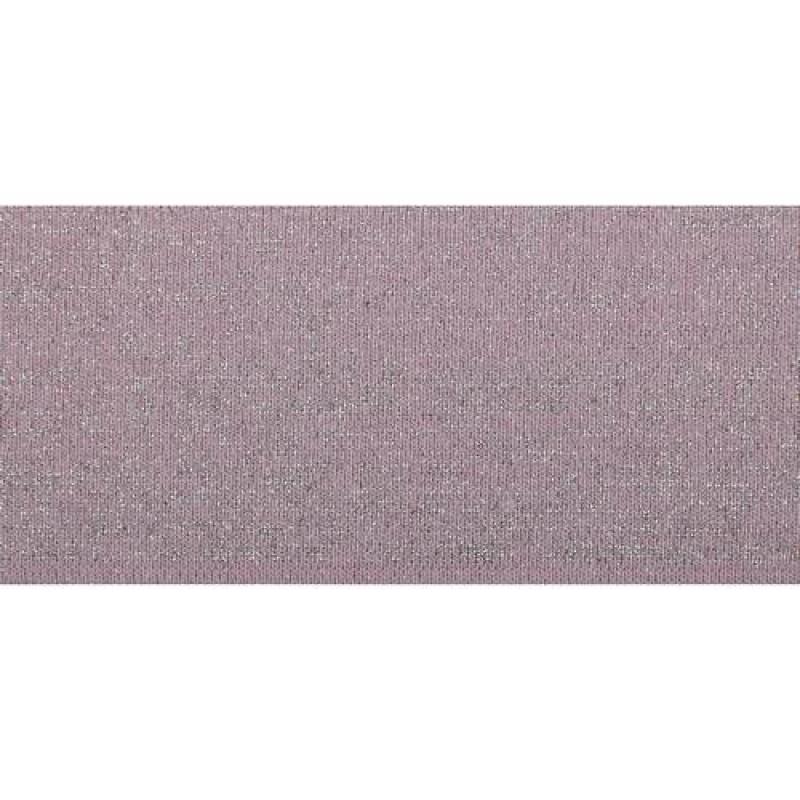 Подвяз акрил с люрексом 1*1, 6*100см, цв: розовый