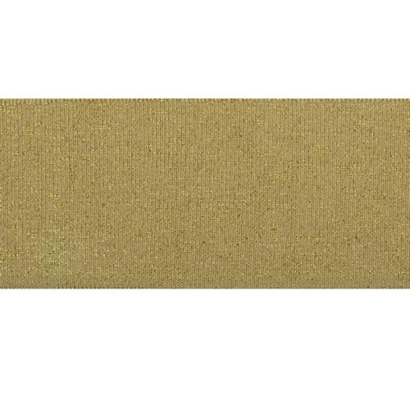 Подвяз акрил с люрексом 1*1, 6*100см, цв: бежевый