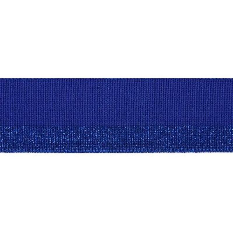Подвяз полиэстер с люрекс 1*1, 3*100см, цв: синий
