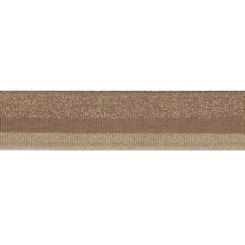 Подвяз акрил с люрекс 1*1, 3*100см, цв: какао