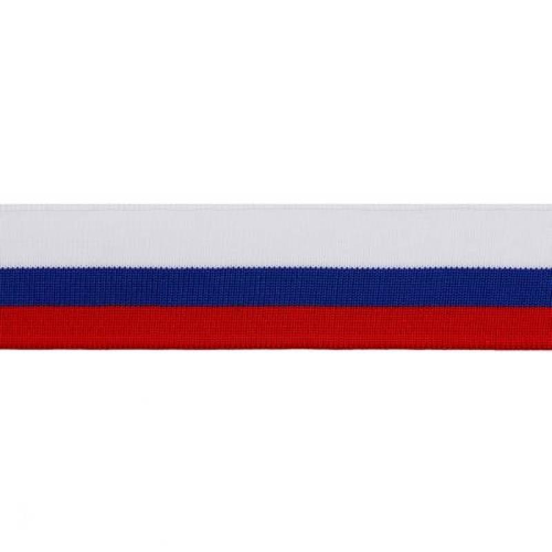Подвяз полиэстер 1*1, 4*100см, цв: триколор
