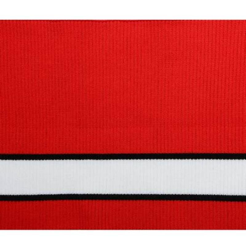 Подвяз акрил 2*2, 16*80см, цв: красный