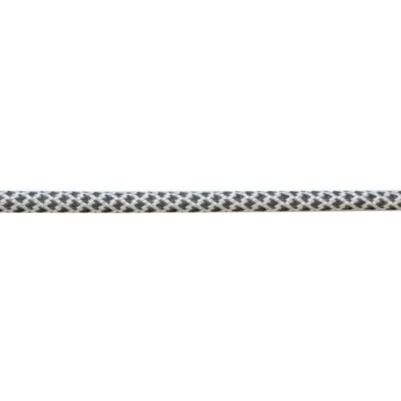 Шнур круглый светоотражающий п/э 0,5см, 73-75м/рул, цв: белый
