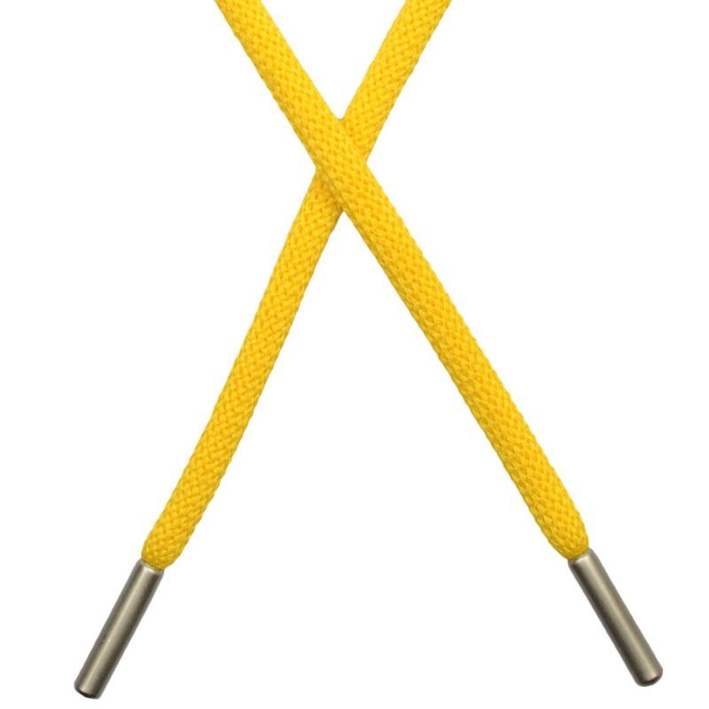 Шнур круглый п/э 0,5*130см с наконечником, цв: хаки