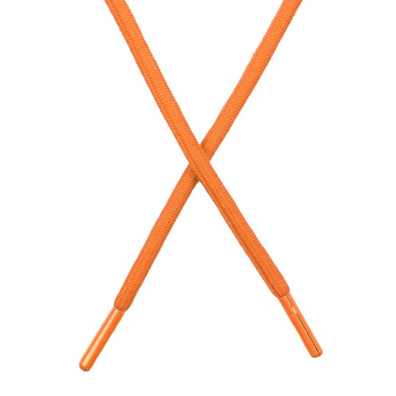 Шнур поликоттон круглый 0,6*130-135см с наконечником, цв:абрикосовый