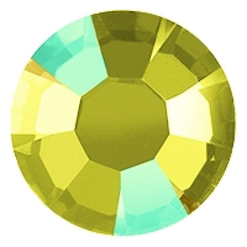 Термоклеевые стразы AB CITRINE SS16 диаметр 3.8-4.0мм