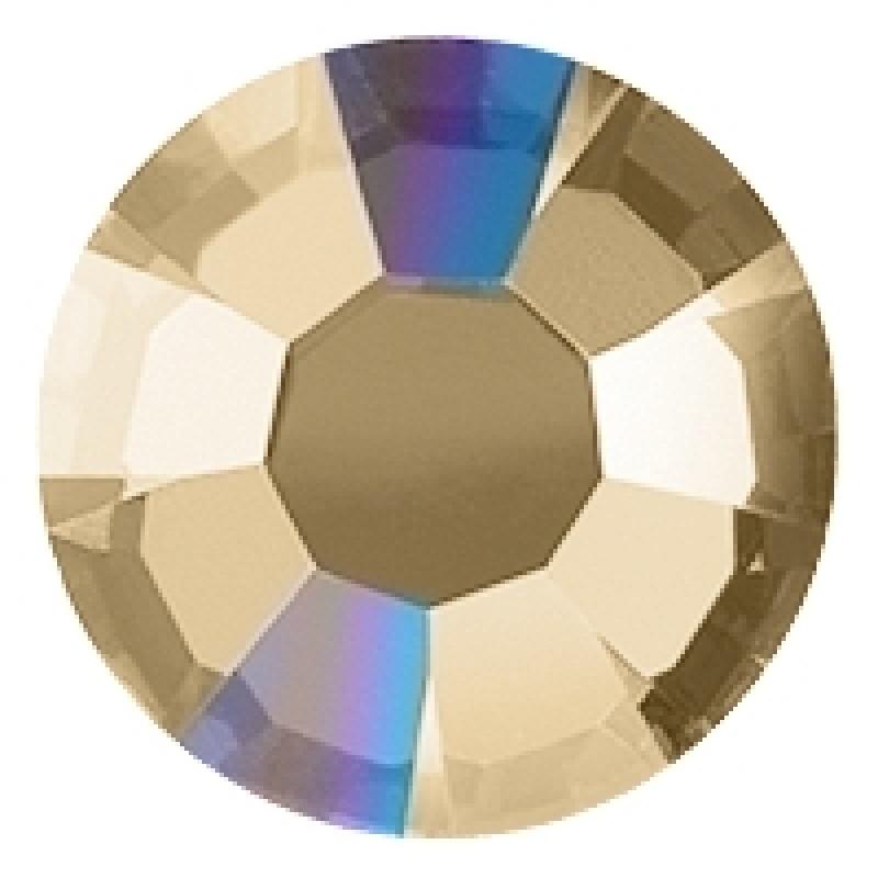 Термоклеевые стразы AB LT COLIRADO TOPAZ SS16 диаметр 3.8-4.0мм