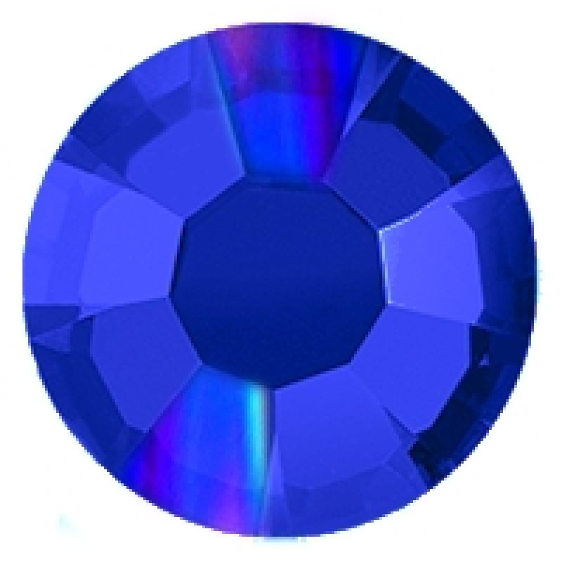 Термоклеевые стразы AB SAPPHIRE SS16 диаметр 3.8-4.0мм