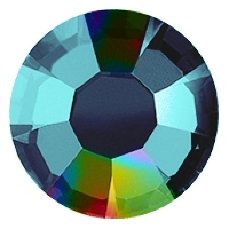 Термоклеевые стразы AB BLUEZITRON SS16 диаметр 3.8-4.0мм