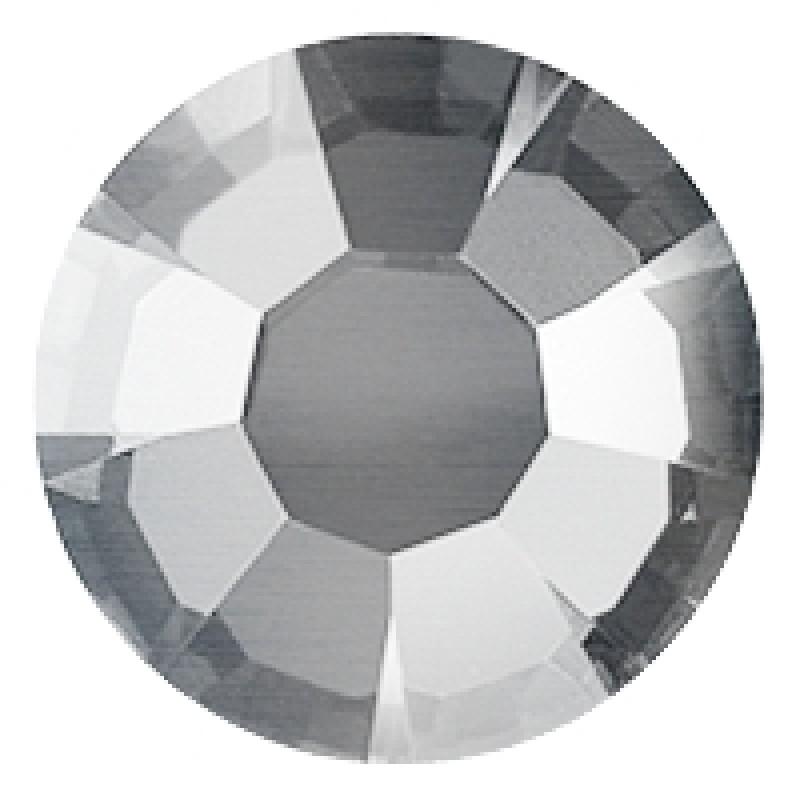 Термоклеевые стразы SILVER FLARE SS16 диаметр 3.8-4.0мм