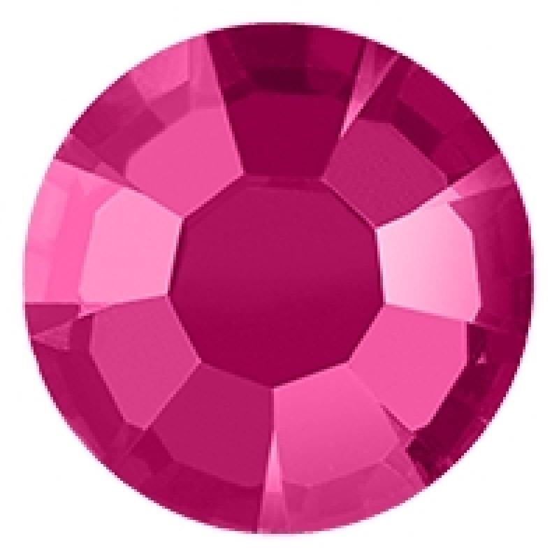 Термоклеевые стразы PINK SS16 диаметр 3.8-4.0мм