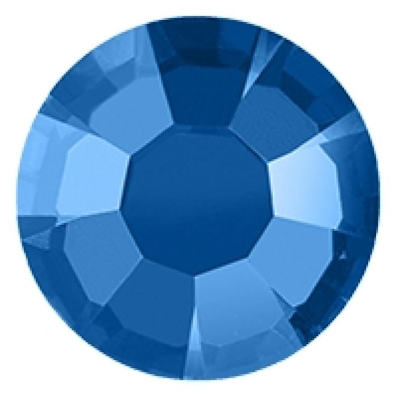 Термоклеевые стразы BLUE  SS16 диаметр 3.8-4.0мм