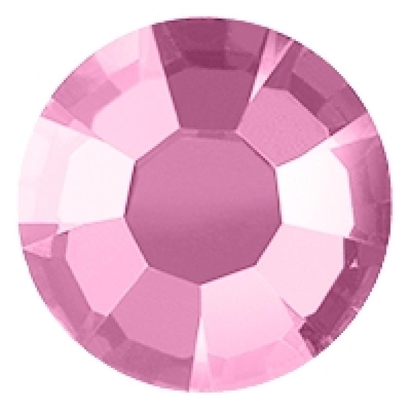 Термоклеевые стразы ROSE диаметр 3.8-4.0мм