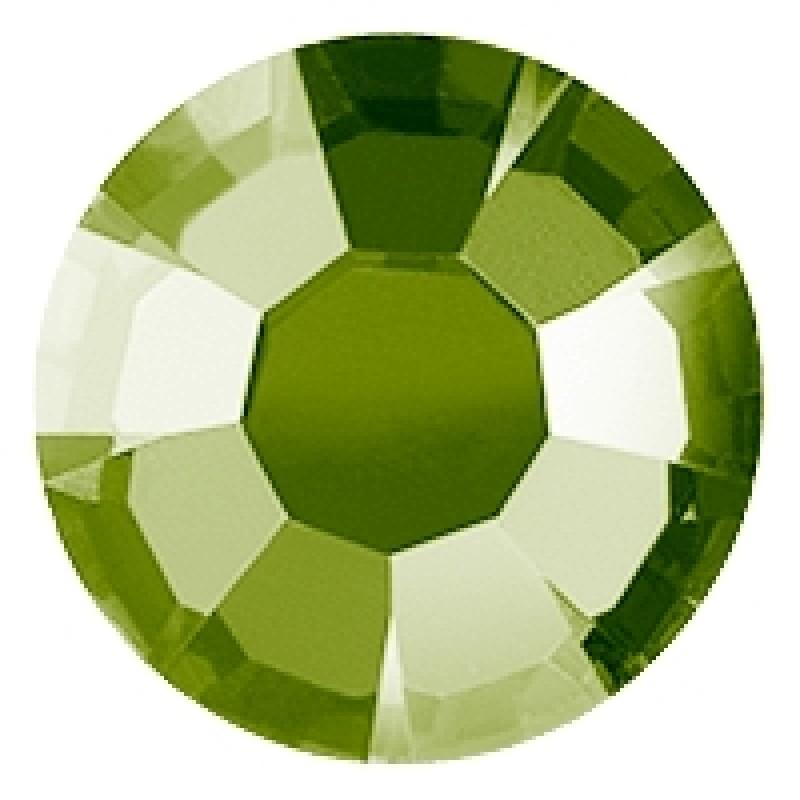 Термоклеевые стразы OLIVINE диаметр 3.8-4.0мм