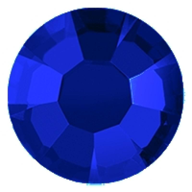 Термоклеевые стразы SAPPHIRE диаметр 3.8-4.0мм