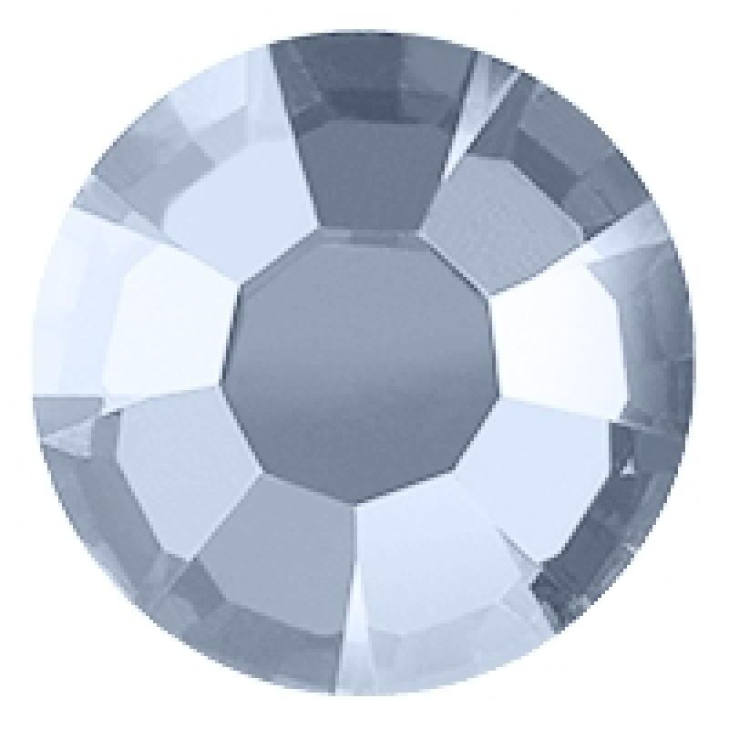 Термоклеевые стразы WHITE OPAL  диаметр 3.8-4.0мм