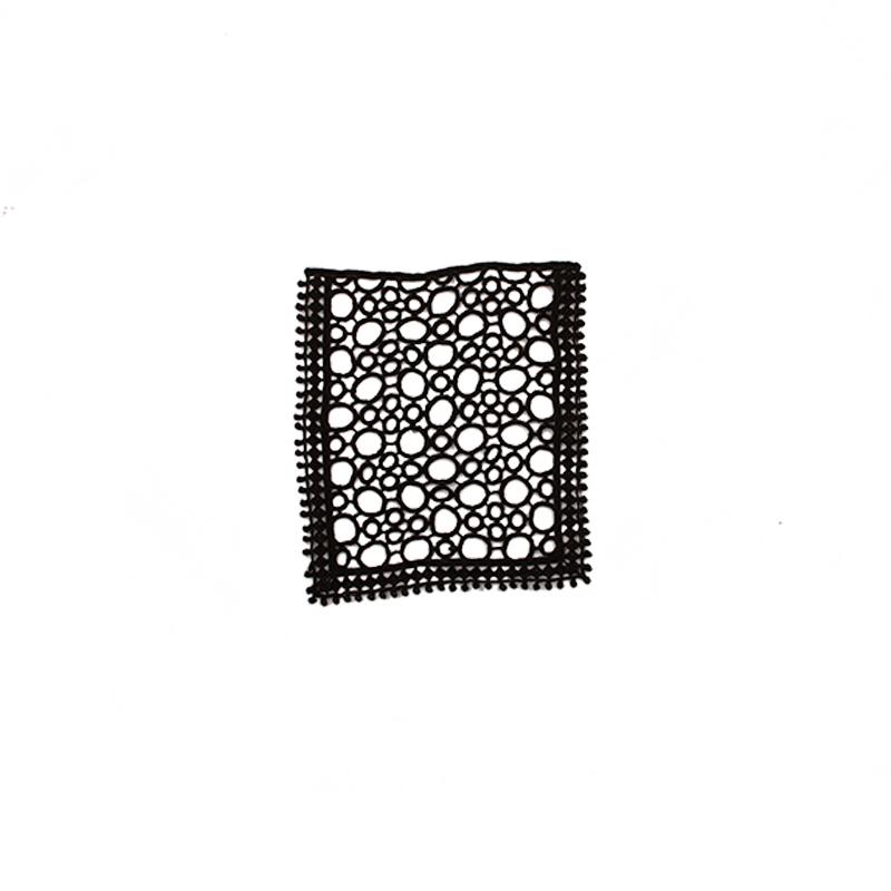 Кармашек кружевной 13,5*11см, цв:черный