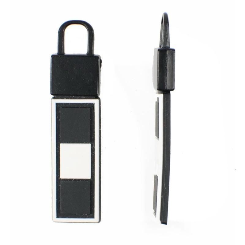 Пуллер декоративный 1*3см, цв: черный