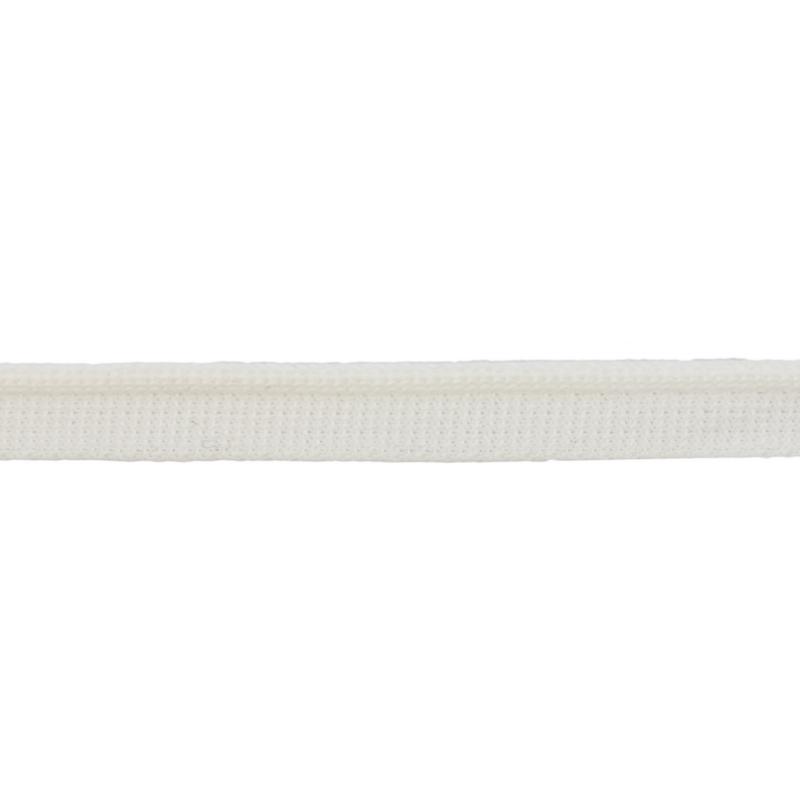 Кант 1см трикотажный 78-80м/рул, цв: молочный