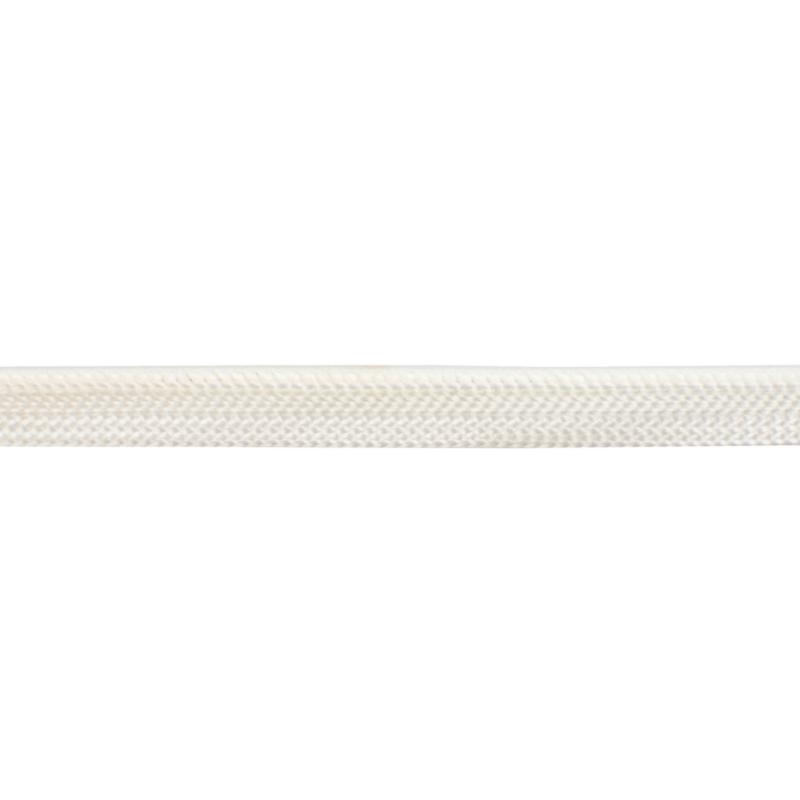 Кант 1см декоративный витой 43-45м/рул, цв: белый
