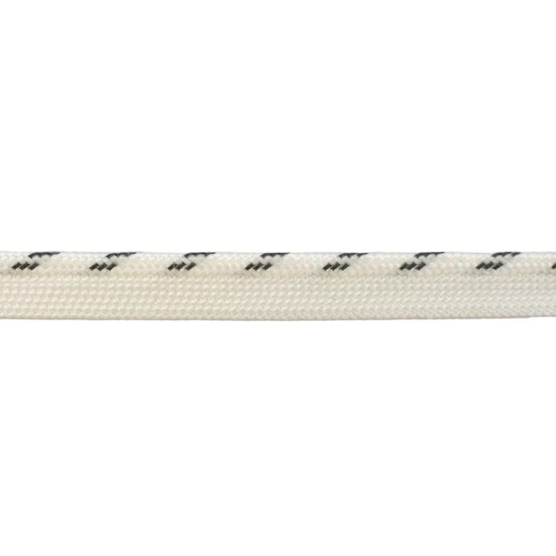 Кант 1см декоративный светоотражающий 43-45м/рул, цв: белый