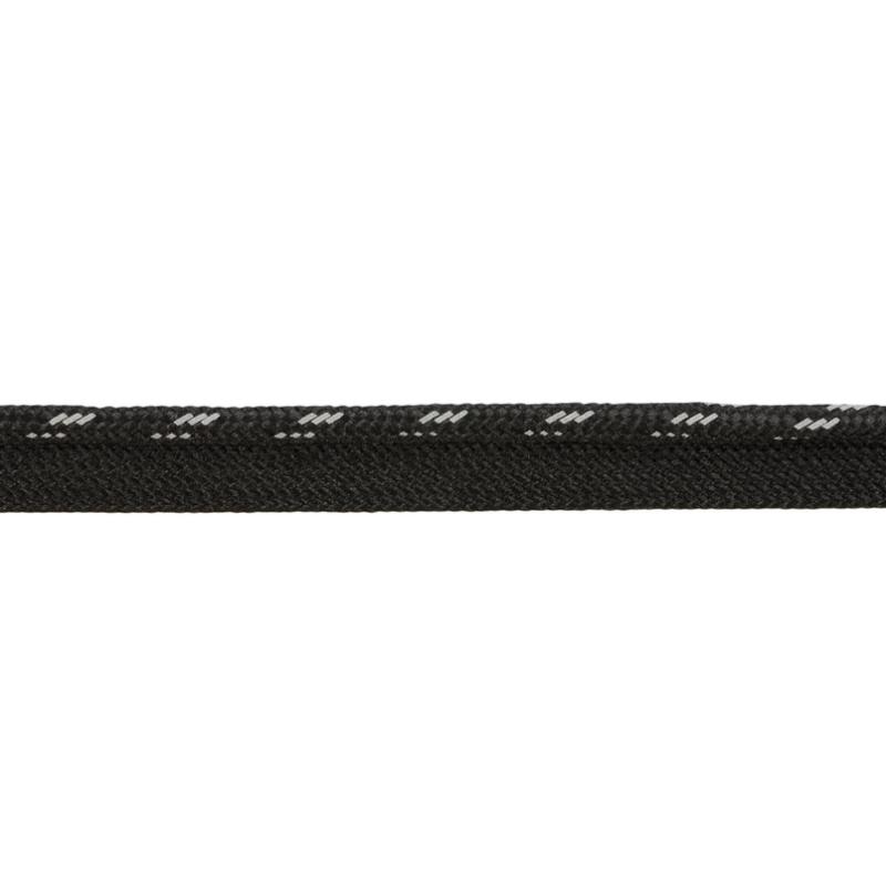 Кант 1см декоративный светоотражающий 43-45м/рул, цв: черный