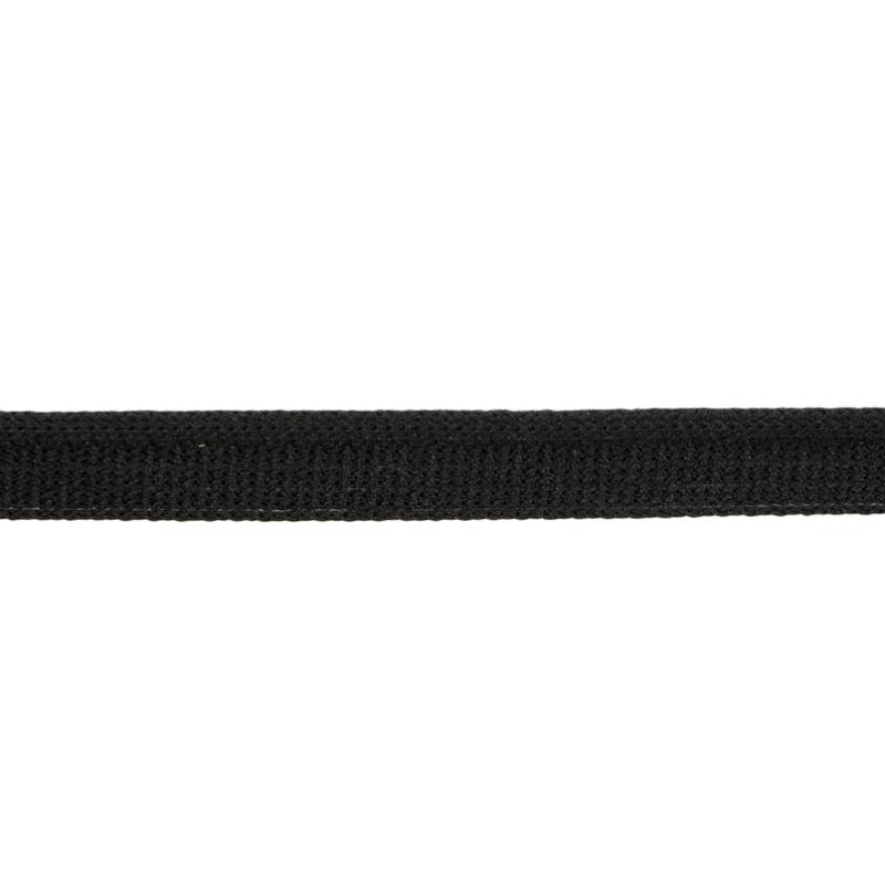 Кант 1см трикотажный 78-80м/рул, цв: черный