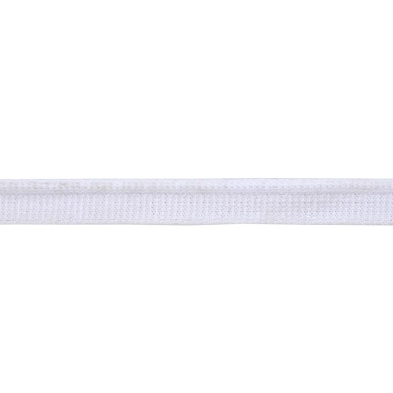 Кант 1см трикотажный 78-80м/рул, цв: белый