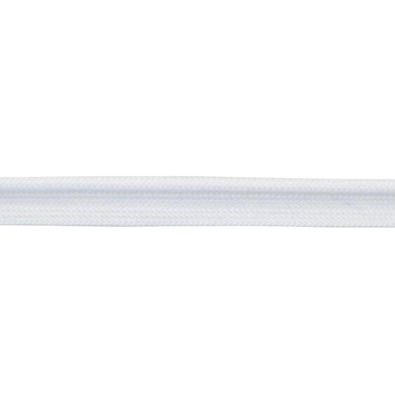 Кант 1см декоративный 43-45м/рул, цв: белый