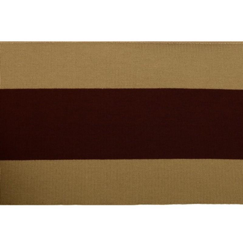 Подвяз 1*1 акрил 14*100см, цв:хаки/коричневый