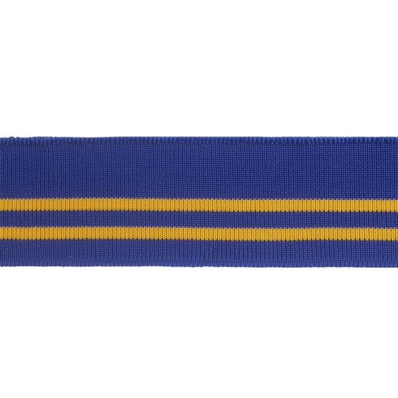 SALE Подвяз 1*1 полиэстер 3*110см, цв:синий/желтый