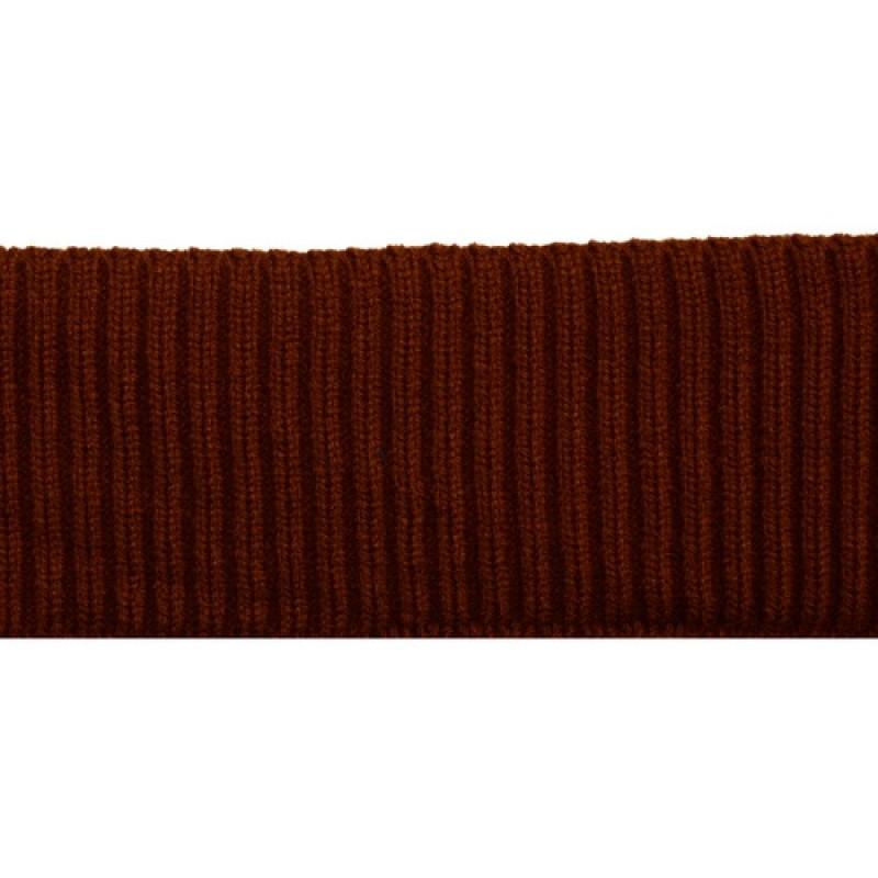 SALE Подвяз 2*2 шерсть/акрил 8*80см, цв:коричневый