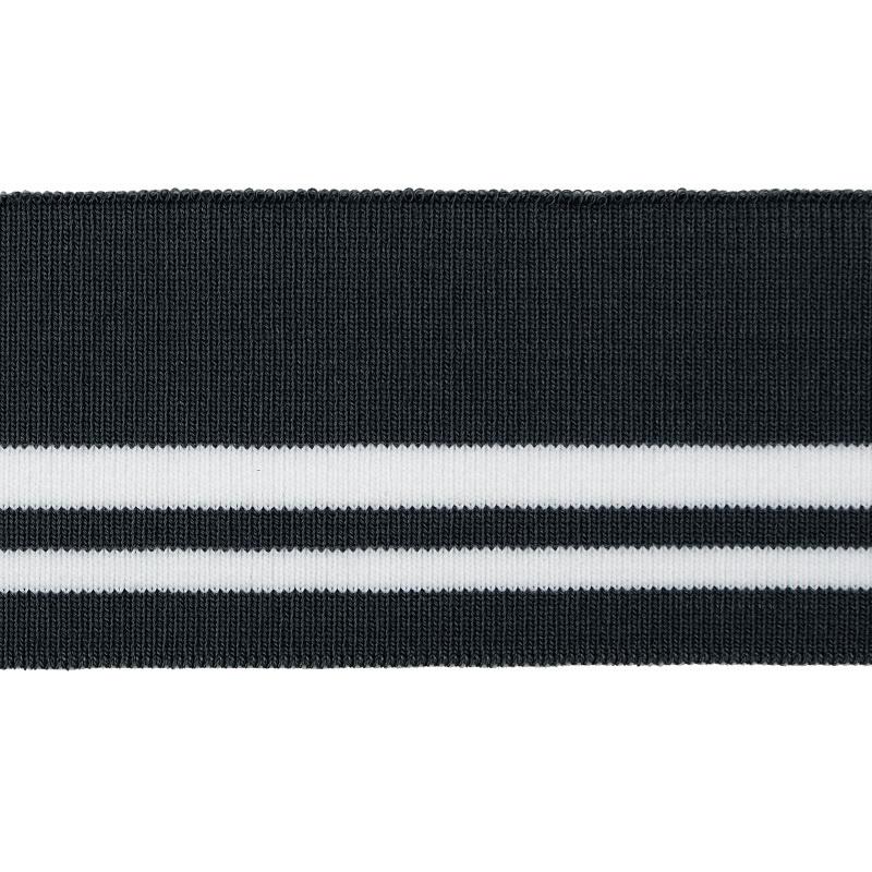 Подвяз 1*1 акрил 6*120см, цв:серый/белый