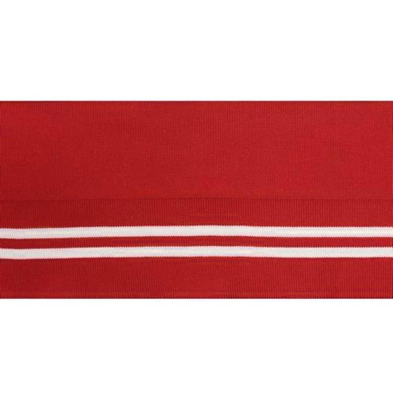 Подвяз полиэстер 12*120см, цв:красный/белый