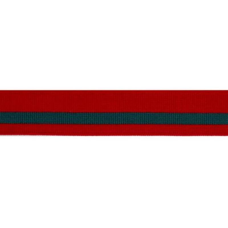 SALE Подвяз нейлон 16кл 3*100см, цвет: красный/бирюзовый