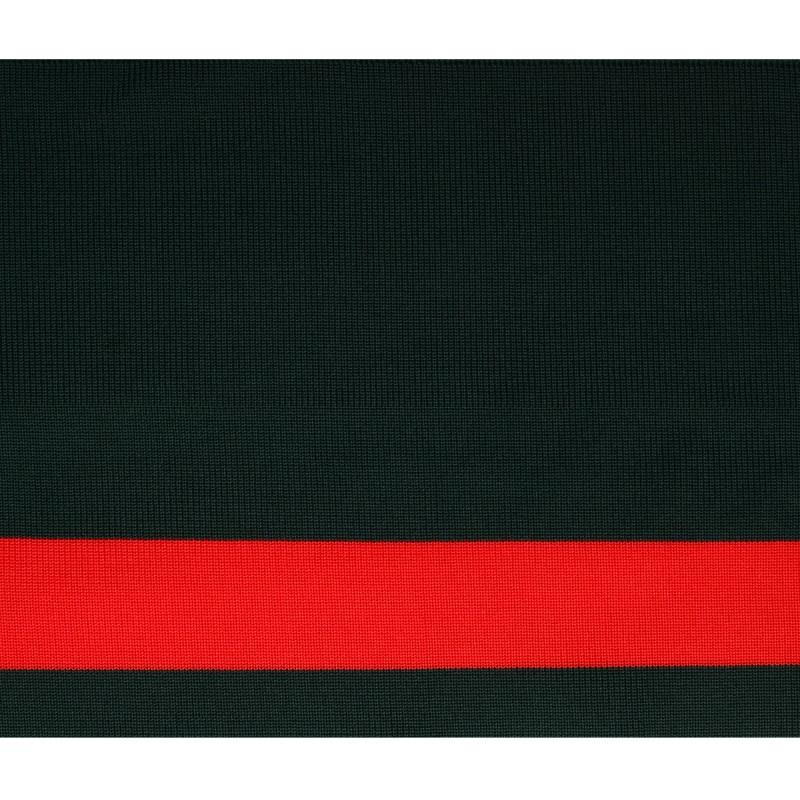 Подвяз 1*1 полиэстер 15*100см , цвет:зеленый/красный