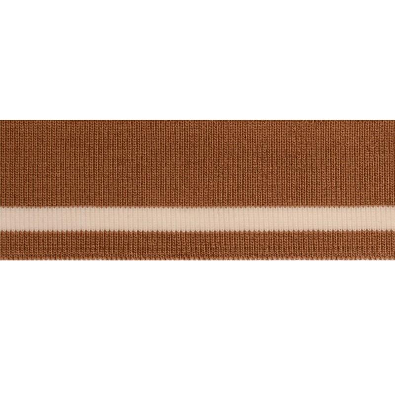 Подвяз акрил 3,7*100см, цв: бежевый/белый