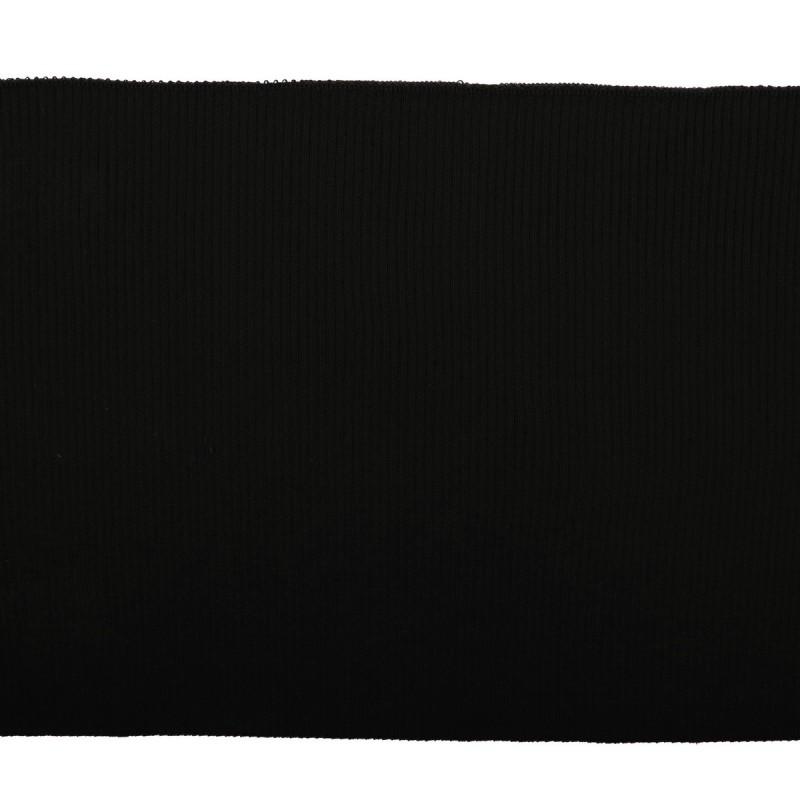 Подвяз акрил 2*2 14кл, 7*80см, цв: черный
