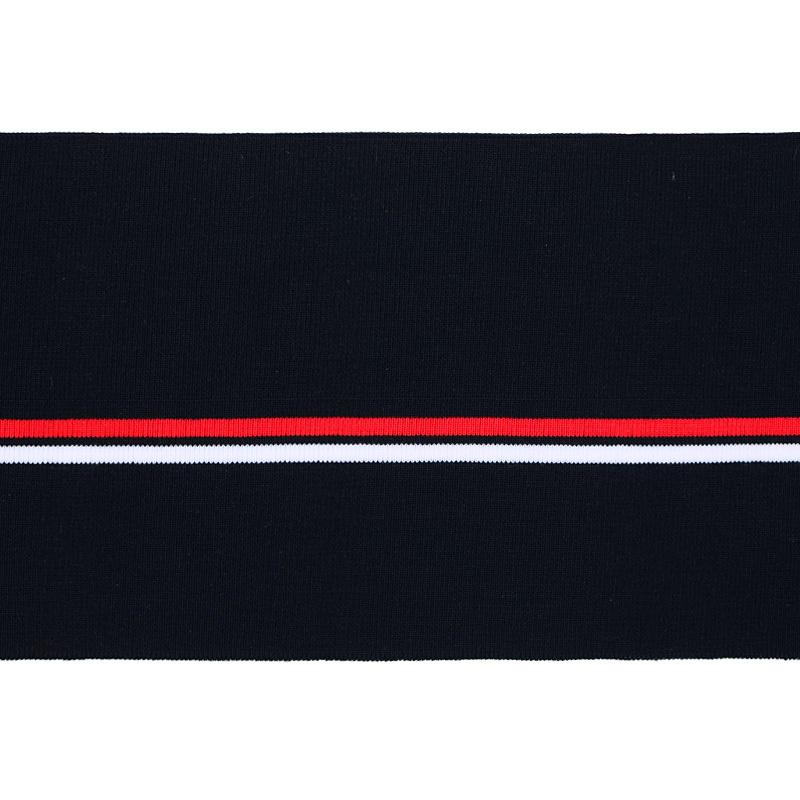 Подвяз акрил 16*120см, цв:т.синий/белый/красный