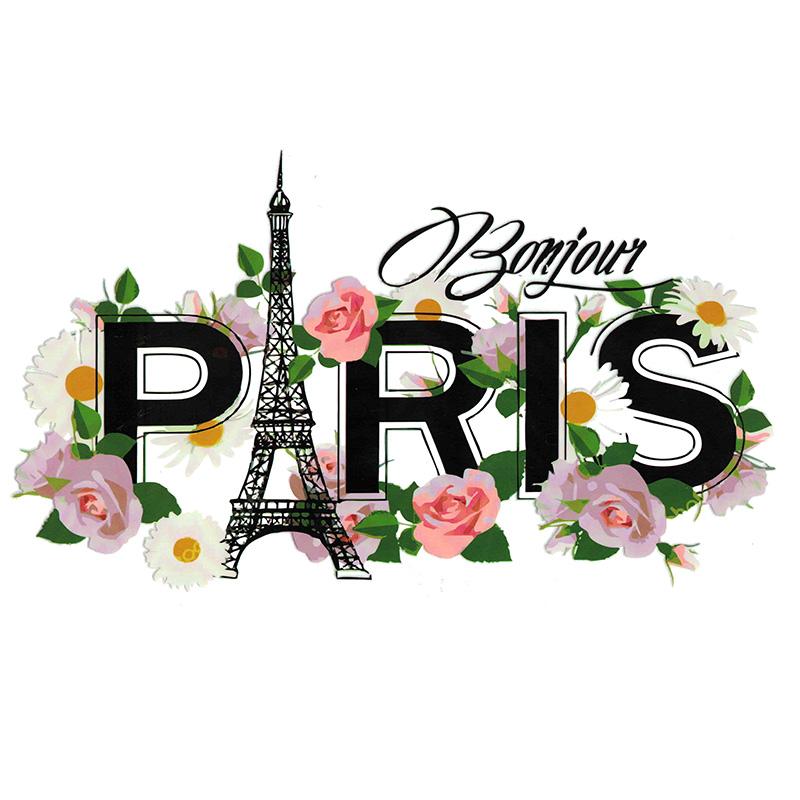 Термотрансфер PARIS 15*26см
