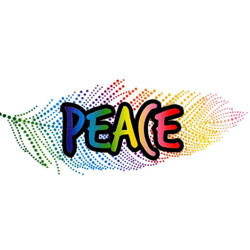 Термотрансфер PEACE 5*12см