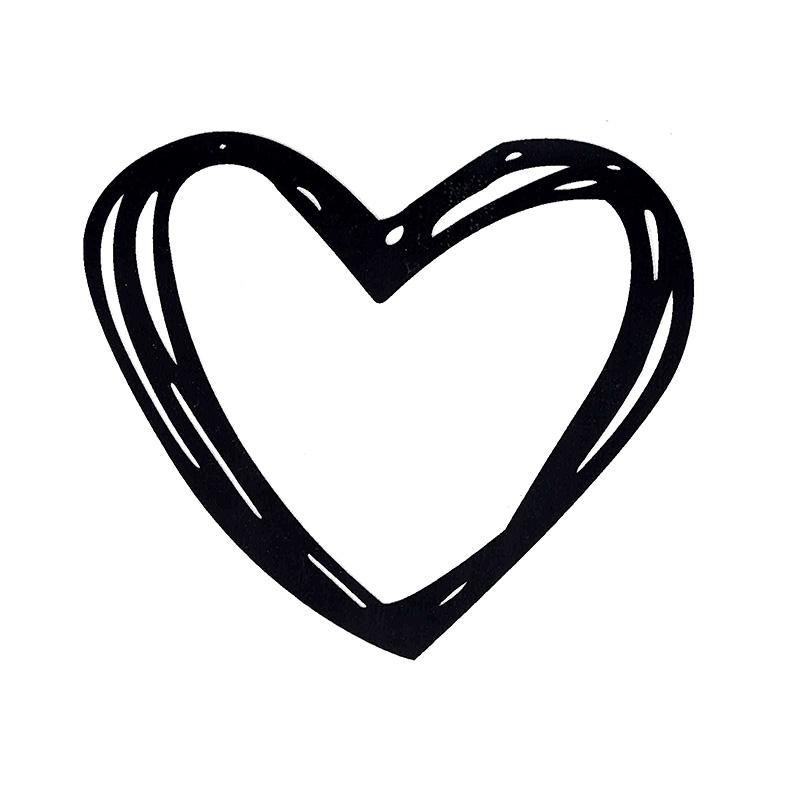 Термотрансфер HEART 16 *14см