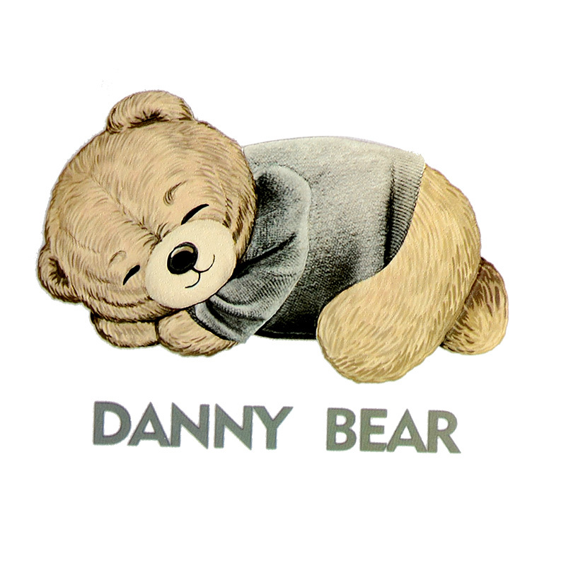 Термотрансфер DANNY BEAR 9,5*7,5см